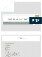 The Trading Pitt Second Meeting