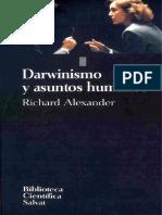 Richard Alexander - Darwinismo y Asuntos Humanos