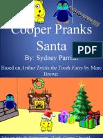Cooper pranks Santa