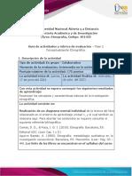Guia de actividades y Rúbrica de evaluación - Unidad 1 - Fase 2 - Conceptualización Etnográfica