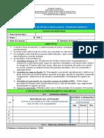 FORMULÁRIO - ACOMPANHAMENTO DE METAS E RESULTADOS– TRABALHO REMOTO