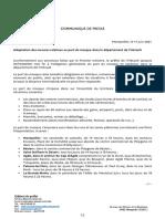 Le port du masque reste obligatoire en extérieur dans certaines zones de l'Hérault