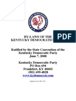 Kentucky Democratic Party Bylaws