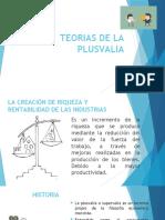 TEORIAS DE LA PLUSVALIA