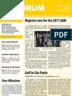 AmSoc Forum April 2011 issue