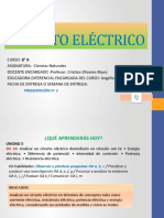 6° - GUÍA N° 2- 2° SEMESTRE-Circuito eléctrico