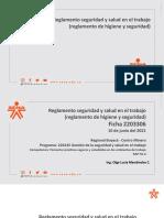Reglamento SST CHigiene y Seguridad) - Ficha 2203306 - f