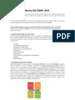 Cambios de la Norma ISO 22000