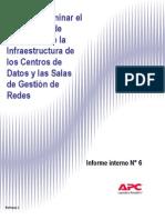Como determinar el costo total de propiedad de la infraestructura de los centros de datos y las salas de gestion de redes