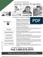 110322 - Summer Reading Skills Programs