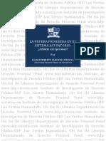 La Prueba Prohibida en El Sistema Acusatorio, Juan Humberto Sanchez c.[1]