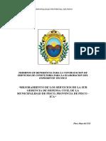 Tdr Exp.tec. Fort. Capac. Defensa Civil Pisco[1]