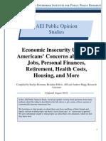 Economic Security in America