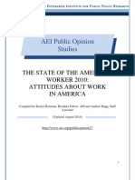 Attitudes about Work in America