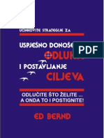 Ed Bernd - Uspješno donošenje odluka i postavljanje ciljeva