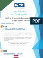 Organização Empresarial e Segurança Do Trabalho (Alunos)