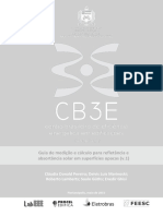 Guia Medicao Refletancia CB3E v1