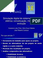 Simulação digital do sistema de tração elétrica