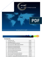 REI LED Lighting Product Catalog