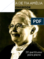 Songbook a Musica de Tia Amelia - Piano (2020)