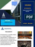 diapositiva PARLAMENTO