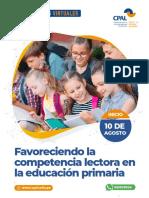 1 Favoreciendo La Competencia Lectora 2020