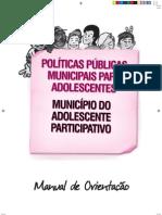 Manual sobre politicas publicas para adolescentes