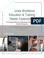 Workforce Training & Green Economy