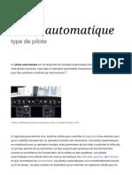Pilote Automatique — Wikipédia
