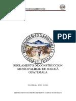 REGLAMENTO DE CONSTRUCCIÓN