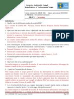 Correction TD 1 Reseaux Informatiques