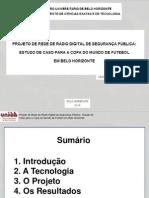Projeto de Rádio para a Copa de 2014 - Radio System Project to Fifa Word Cup at 2014