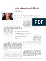 Diversity Journal | Training a Commitment to Diversity - Jan/Feb 2010