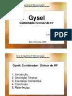 GYSEL - FILTER / DUPLEX / COMBINER - TUTORIAL