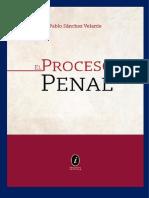 2020 El Proceso Penal - Pablo Sánchez V.