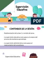 Conceptualización de la Supervisión Escolar