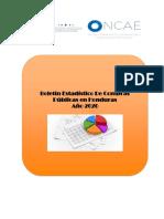 Boletín Estadístico de Compras en Honduras - 2020