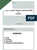 SCSI - FIREWIRE - SAS/SCSI