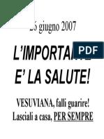 26 Giugno 2007 - Antivesuviana