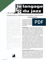 Chiffrage Harmonique_Langage du Jazz