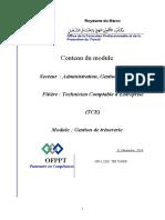 Module-GESTION DE LA TRESORERIE-2014
