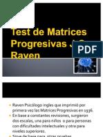 Test de Matrices Progresivas Raven Resumen.