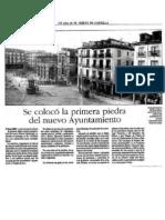Construcción del nuevo Ayuntamiento de Valladolid