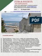 Cultura & Società in Capitanata N. 37 Del 21-06-2021