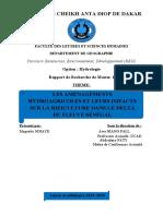 Rapport Maguette corrigé UCAD
