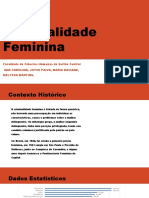Criminalidade Feminina