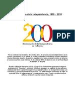 Bicentenario de la Independencia1