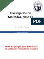 Clase 11, Investigación de mercados (2)