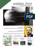 PAGINA ZERO Nº 2, Revista de Poesía