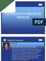 Prensa 2.0 y Elecciones 2011